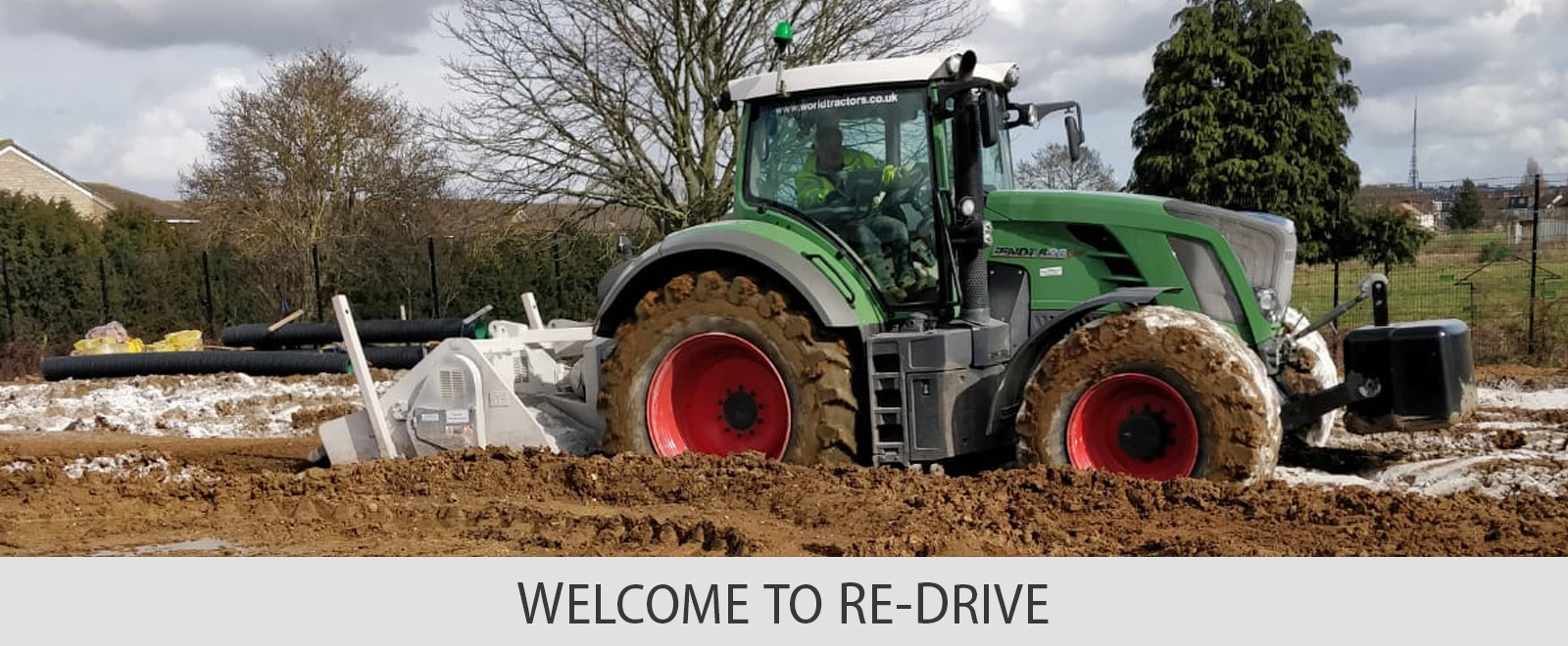 WELCOME TO RE-DRIVE