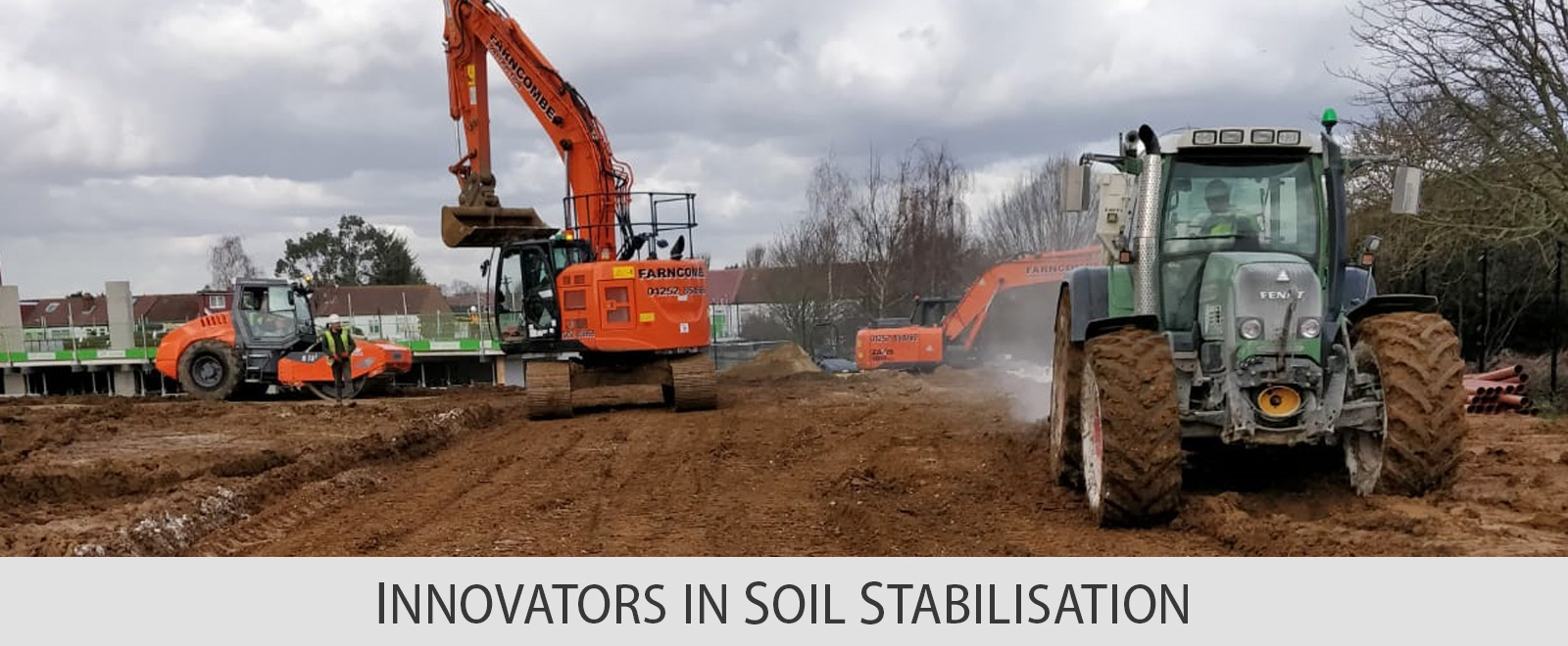 INNOVATORS IN SOIL STABILISATION