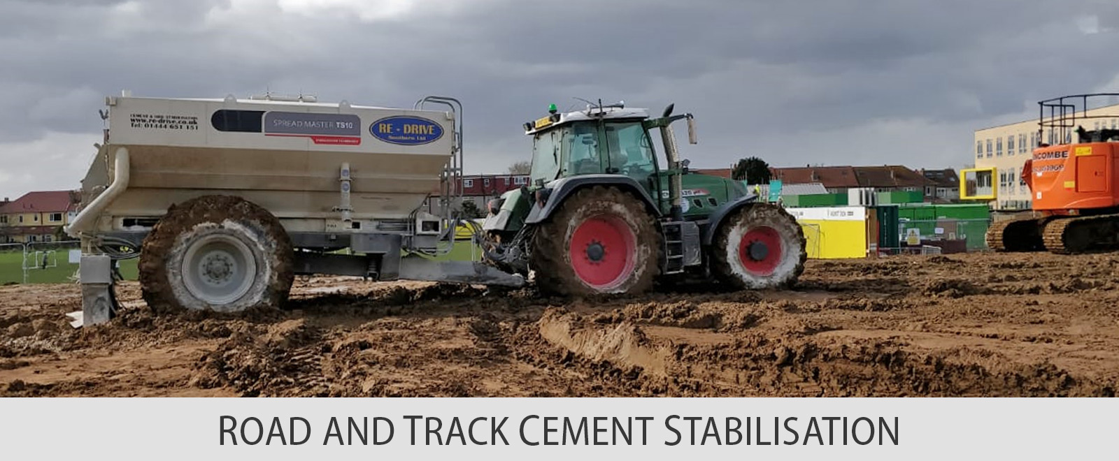 ROAD AND TRACK CEMENT STABILISATION